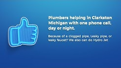 247 Drain Cleaning Services in Clarkston Michigan. Plumbers near Clarkston MI