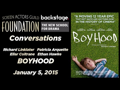 Conversations with Richard Linklater, Patricia Arquette, Ellar Coltrane, and Ethan Hawke of BOYHOOD