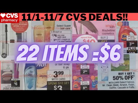 🔥11/1-11/7 CVS Deals😇 Stock Up On DOVE/DEGREE/AXE 🔥11/1 CVS Couponing This Week+ MUST DO CVS DEALS🔥
