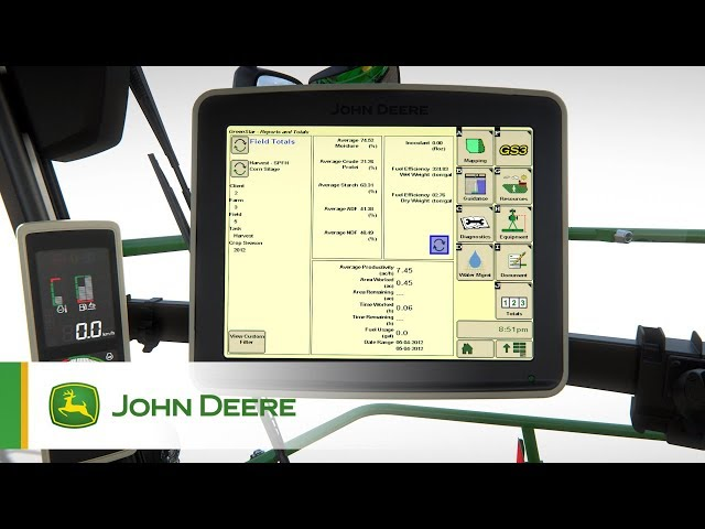 John Deere - Série 8000 Series - Système de communication