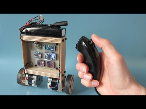 Another Arduino project - Your Arduino Balancing Robot (YABR)