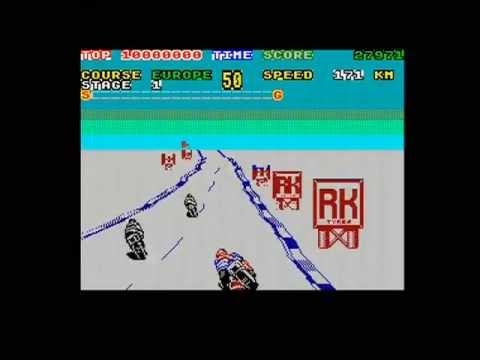 SUPER HANG-ON - EUROPE (ZX SPECTRUM - FULL GAME)