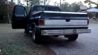 1986 chevy c 10 custom deluxe w 454