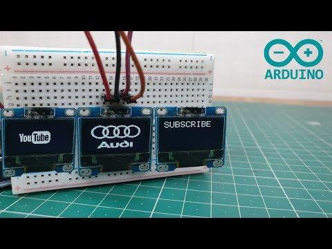 Arduino OLED Bitmap Graphics Display
