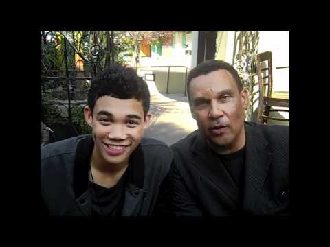 Shake it Up's ROSHON FEGAN at his Video Release Party for
