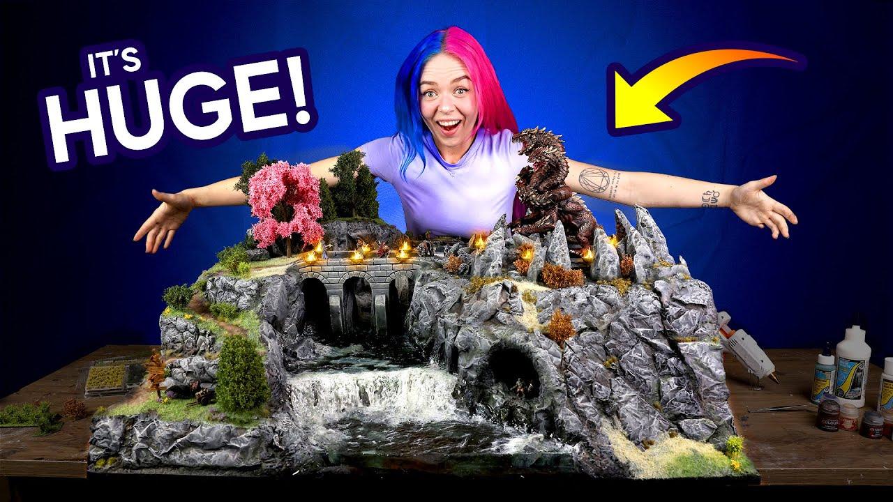 I Made a Gigantic Fantasy Diorama in 5 Weeks