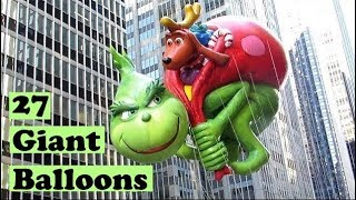 Macy's Thanksgiving Day Parade Balloons (2017)