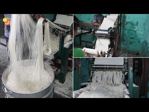 Raw Noodles Making & Many More - Indian Street Food - Indian