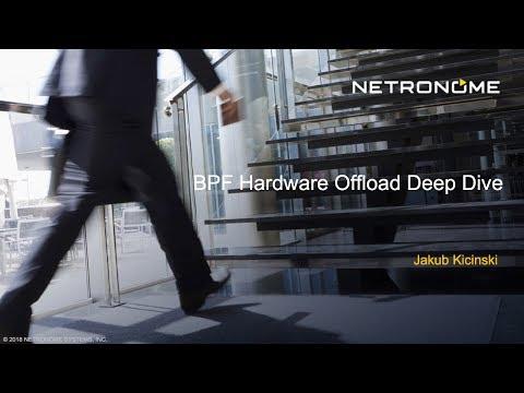 BPF Hardware Offload Deep Dive Webinar