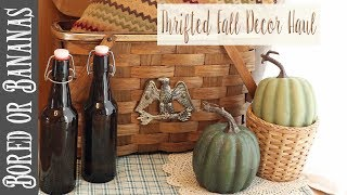 Awesome Fall Decor Goodwill Thrift Haul!