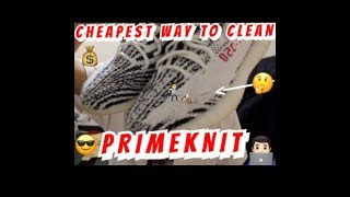 How to clean Primeknit!  The cheapest way no Crep or Jason Markk 😎😏💰