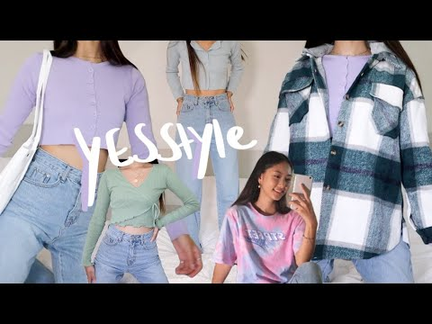 YesStyle Try-on Haul - Must Have Items 🤩