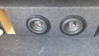 woofers ds18 elite 8 con ampli rock series 1000 balancan tabasco
