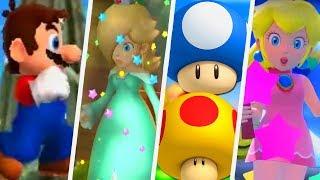 Evolution of Mega & Mini Mushrooms in Super Mario Games (2000 - 2017)