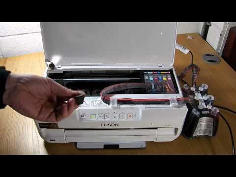 How To Refill Epson 24 26 Ink Cartridges Doovi