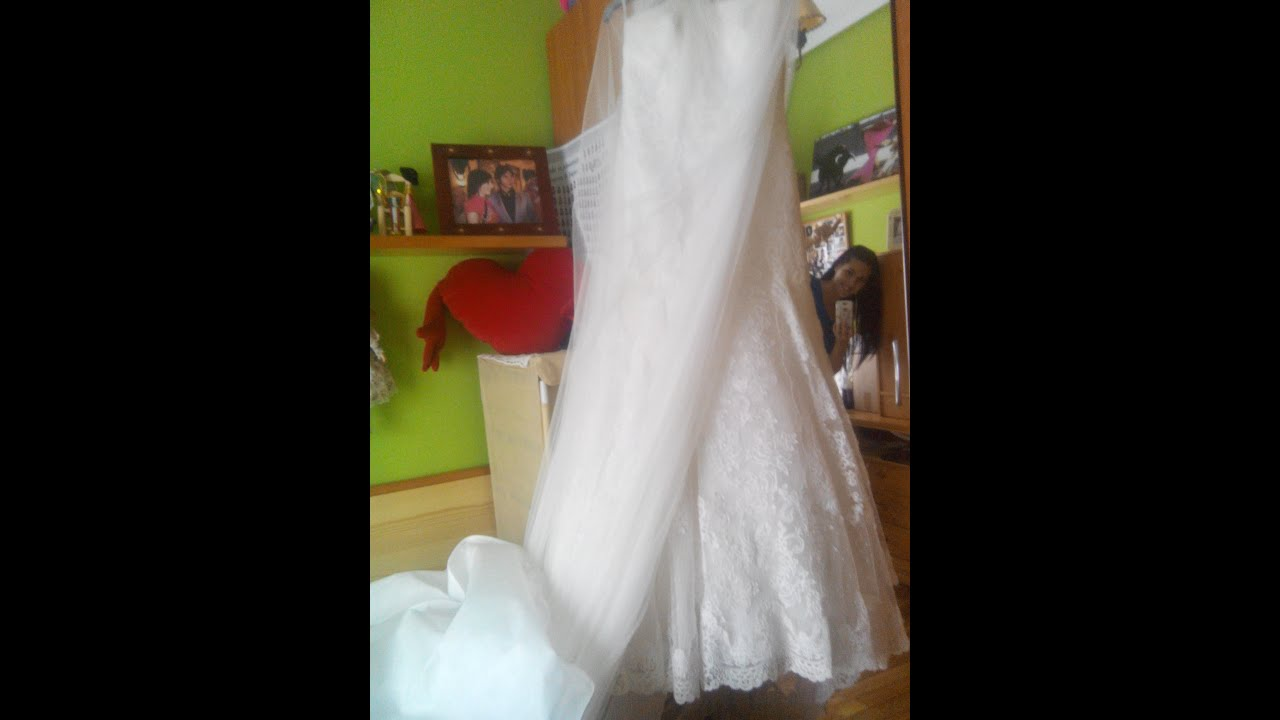 Lavar un vestido de novia