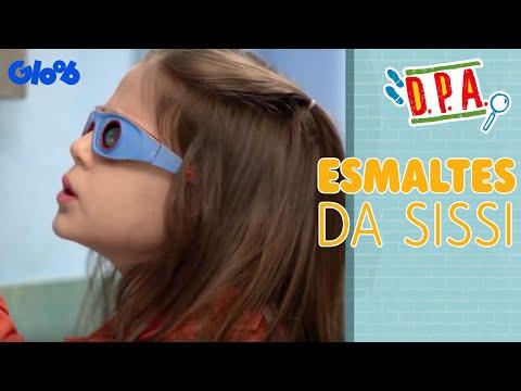 D.P.A.: Diversões no Prédio Azul  Esmaltes da Sissi  Gloob  Exclusivo Web
