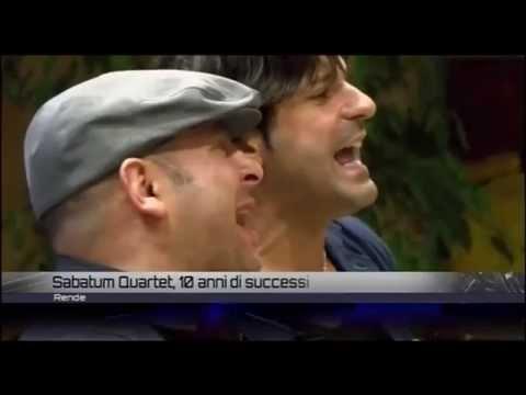 SABATUM QUARTET 10 - dieci anni di musica, passioni contaminazioni - INFOSTUDIO VideoCalabria