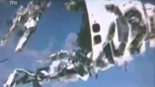 El Transbordador Columbia fue destruido por ovnis.