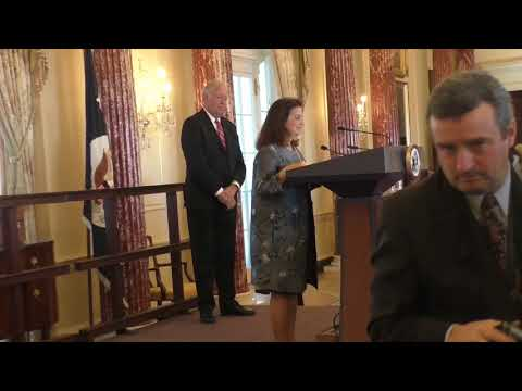 Swearing in Ceremony of Nina Fite as the New US Ambassador to Angola 1-5-18