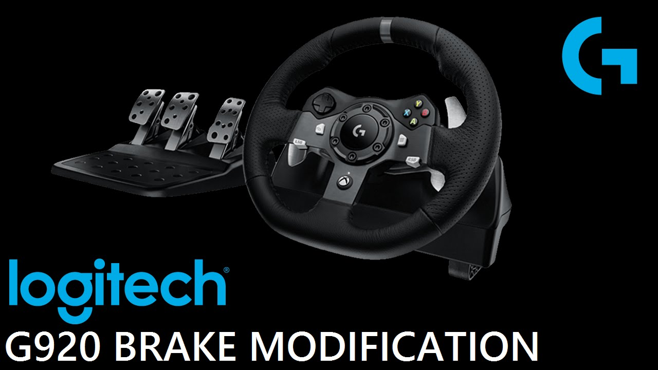 99a9d963b78 Logitech G920 Brake Pedal How To Fix and Tested Xbox One - YouTube