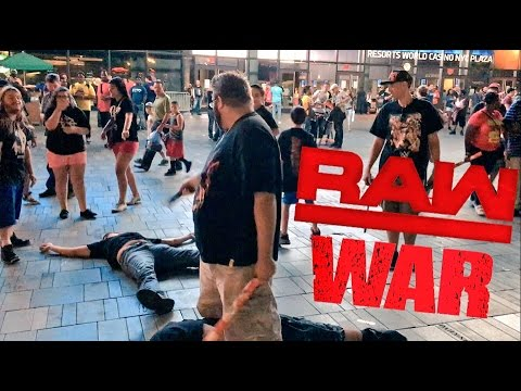 GRIM WAS ON RAW! INSANE POST SHOW PARKING LOT MATCH and LIVE WWE RAW REACTIONS!