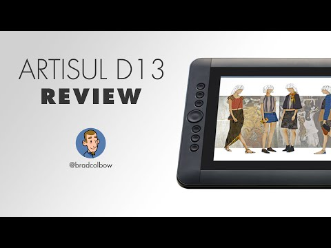 Artisul D13 Drawing Tablet Review - A real Wacom competitor