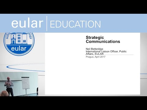 EULAR School of Rheumatology: Strategic Communications and Leadership Skills