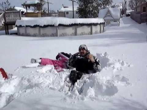 """Crazy Snow Storm Of  2010  """"OHIO"""""""