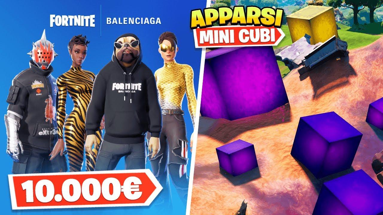 Download NUOVE Skin da +10.000€ + EVENTO NUOVI Mini Cubi in MAPPA! #GigiNews Fortnite Stagione 8 ITA!
