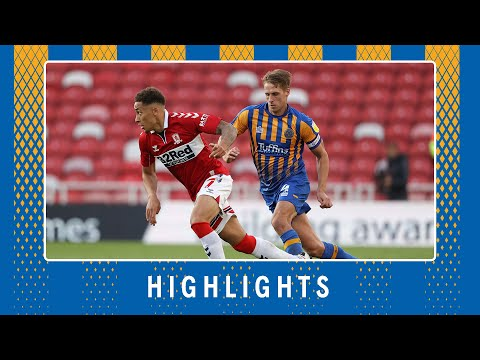 Middlesbrough Shrewsbury Goals And Highlights