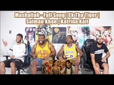 Mashallah  | Ek Tha Tiger | Salman Khan | Katrina Kaif | Wajid Khan | REACTION