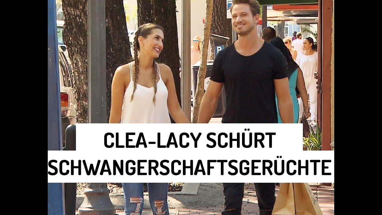 Bachelor 2017 Clea Lacy Schürt Schwangerschaftsgerüchte Youtube