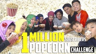 1 MILLION SUBSCRIBERS POPCORN CHALLENGE | Gen Halilintar