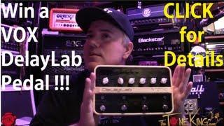 ttk give away vox delaylab pedal april 2013