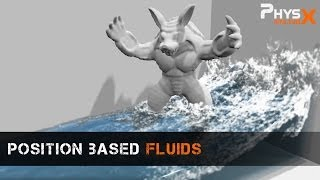 Position Based Fluids Demonstration