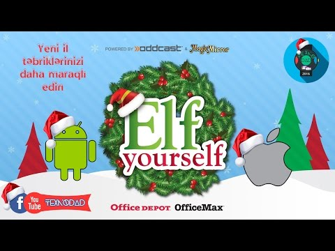 Elf Yourself(Yen Il Təbrikinizi Daha Maraqlı Edin)(Android/iOS)