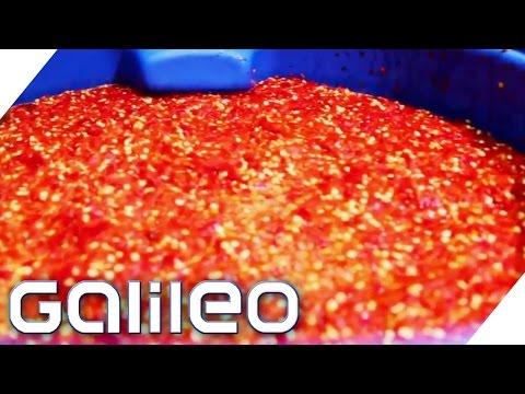 So entsteht die Sweet-Chili-Sauce | Galileo Lunch Break