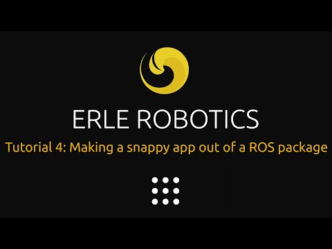 Learning ROS 4: Making a snappy app out of a ROS package
