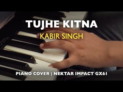 tujhe-kitna-chahne-lage-hum---kabir-singh---piano-cover---nektar-impact-gx61---garageband