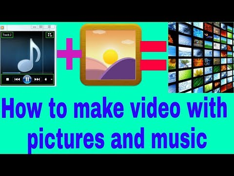 App to make video with pictures and music for pc