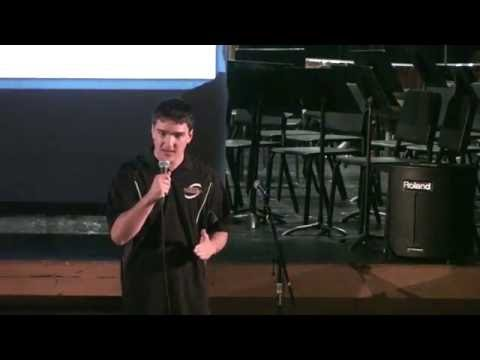 Devin O'Connell Speech at Polson Middle School