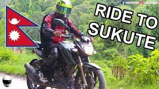 RIDE TO SUKUTE | RIVERBAY RESORT | APACHE 200 | NEPAL | MOTOVLOG [#34]