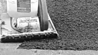 Укладка холодного асфальта г. Тольятти, Самарская область (часть 1)(К нам обратилась компания ООО «Система Комплексной безопасности» с просьбой приобрести холодный асфальт..., 2013-07-18T20:01:13.000Z)