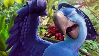 Bruno Mars sings Welcome Back Song Scene - RIO 2 (2014) Movie Clip