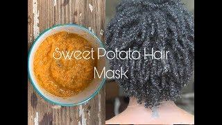 Feeding my Hair: Sweet Potato Hair Mask
