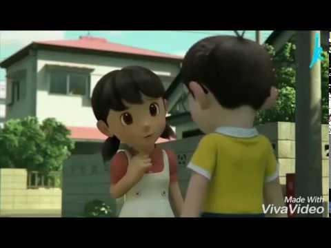 Mere Rashke qamar tune pehli nazar doraemon animated love story