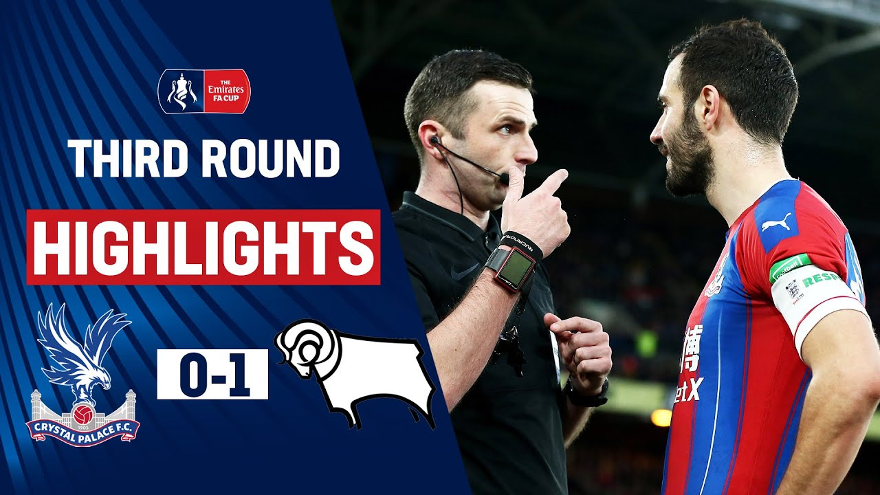 Red Card Drama as Rooney Returns in Shock! | Crystal Palace 0-1 Derby County | Emirates FA Cup 19/20