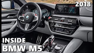 BMW M5 Interior (2018)