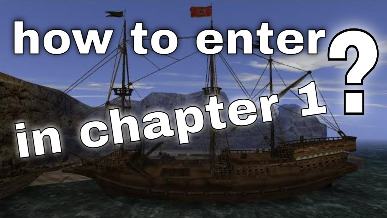 Gothic 2 - how to enter Paladin Ship in chapter 1 - YouTube